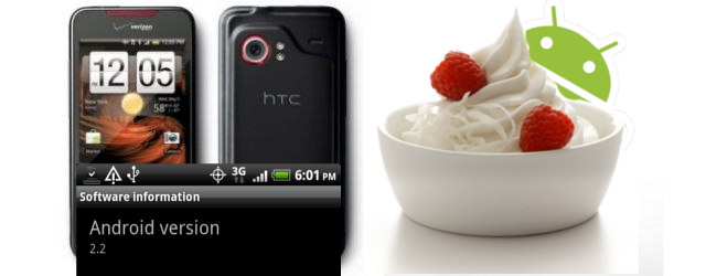 Froyo for the HTC Droid Incredible