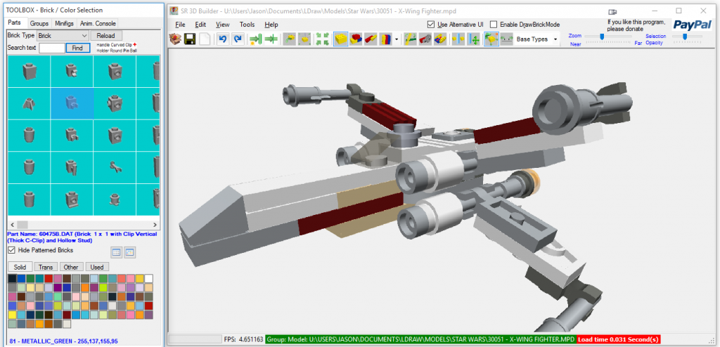 SR 3D Builder GUI
